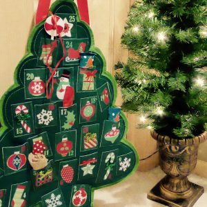 Advent Calendar Door Decor