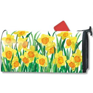 Daffodils Magnetic Mailbox Cover