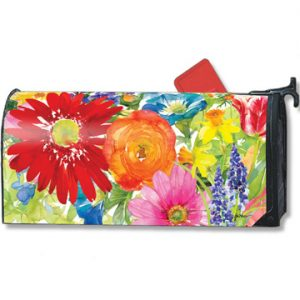 Splash of Color Magnetic Mailbox Cover