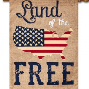 Land of the Free house flag
