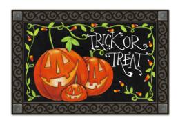 Halloween Treat MatMate Doormat