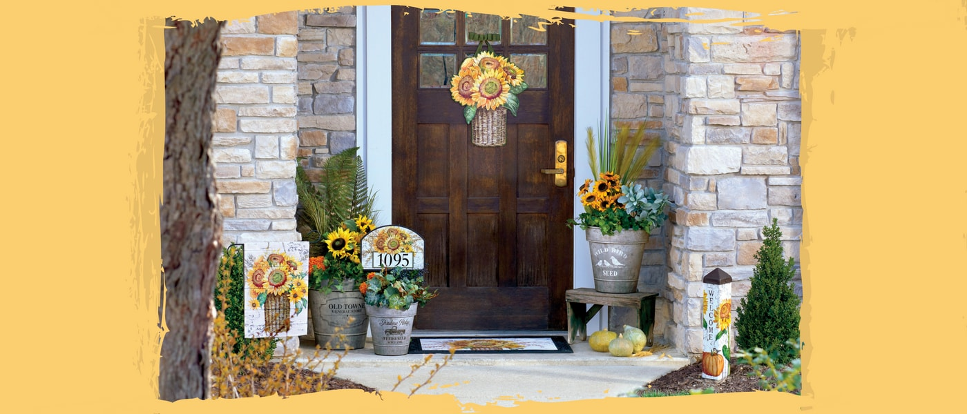 Farmhouse Sunflowers Collection